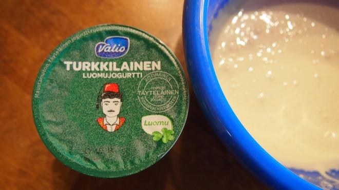 jäädeyke, turkkilainen jogurtti, luomu