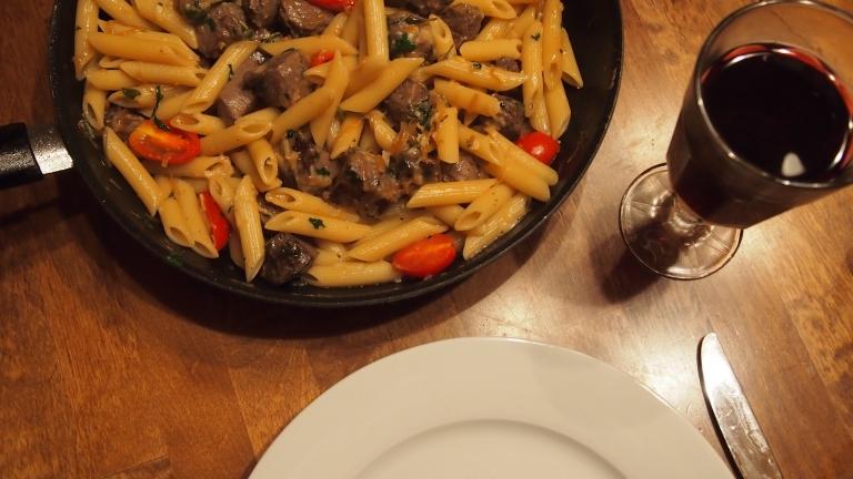 lammaspasta, karitsanfilepasta, pasta