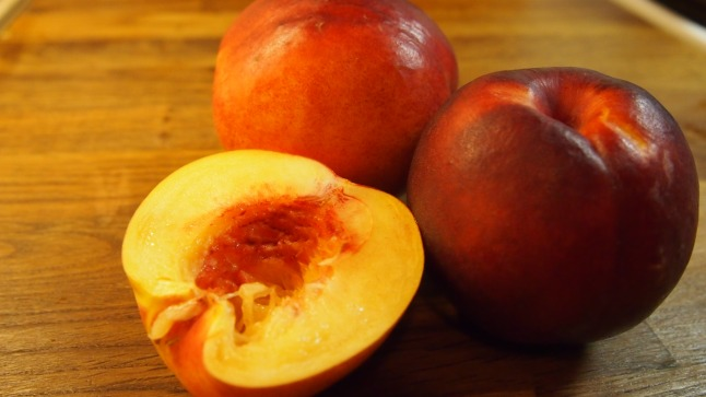 nektariini, grillattu nektariini